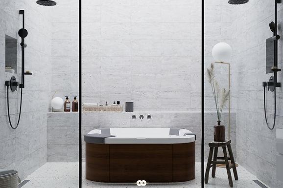 Architecture Visualisation 7 : Luxury Bathing Spain