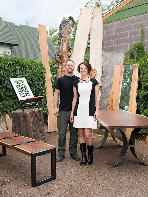 Ryan Dirksen and Marina Chotzinoff
