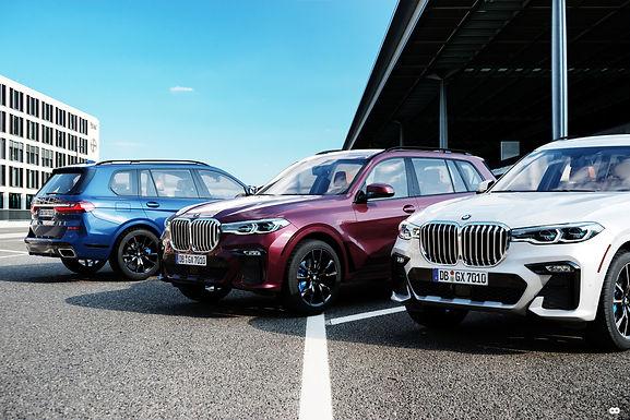 Automotive Design 2 : BMW X7 Virtual Photography Urban