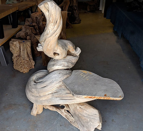 Twisted Tree Bench #22