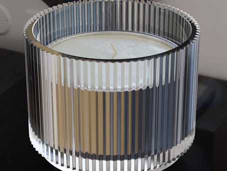 IKEA candle holders and candles