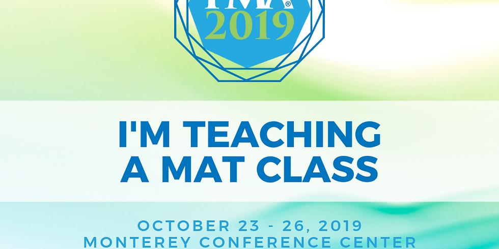 PMA Conference 2019 Monterey, California