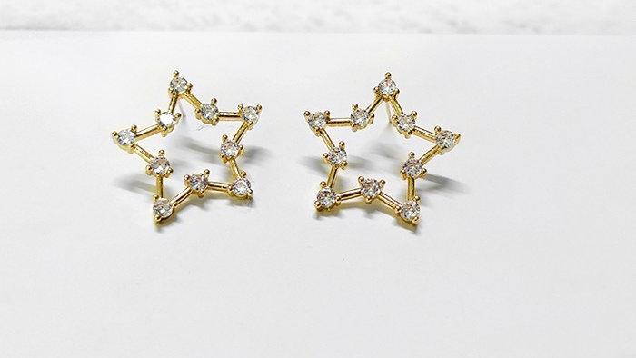 Grace Star Earrings
