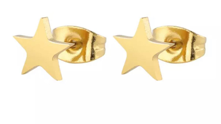 Golden Star Studs