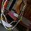Thumbnail: Beaded Smiley Necklace Thin
