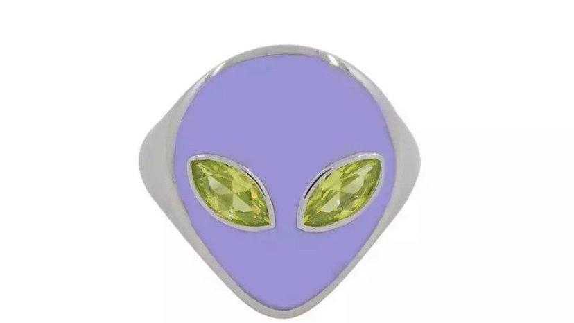 Lilac Alien Ring