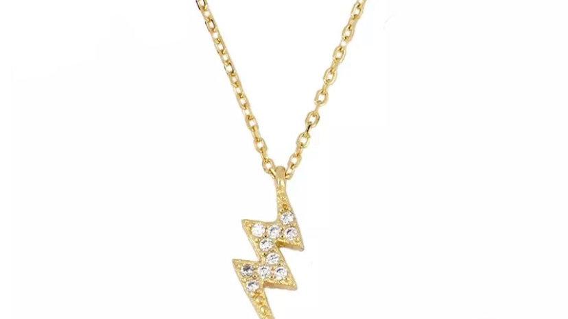 Gold Thunder Necklace