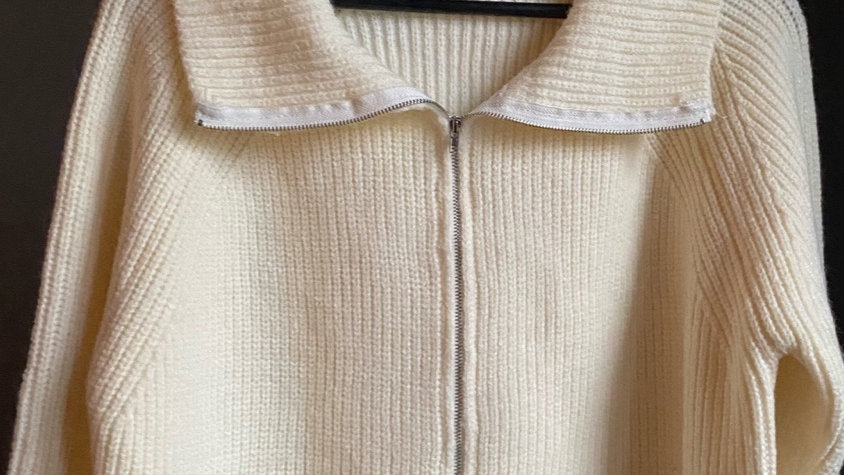 Lisa Zip Cardigan Limited Knits