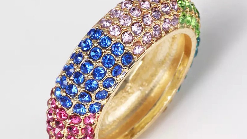 Rainbow Diamond Ring