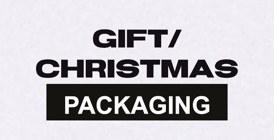 GIFT/CHRISTMAS PACKAGING