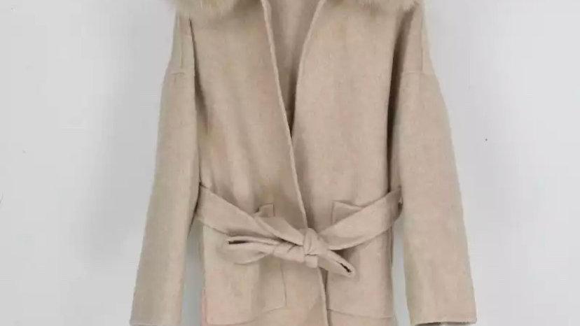 Stockholm Wool Coat Camel
