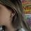 Thumbnail: Thunder Hoop Earrings