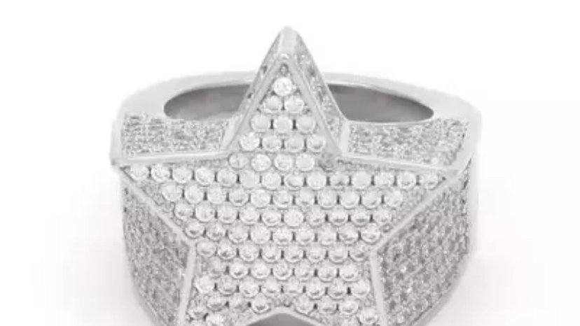 Superstar Ring Silver