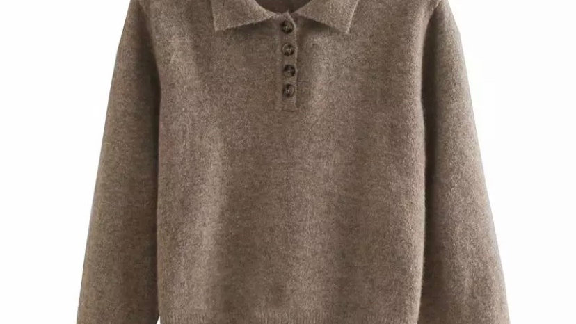 Camel Zoe Sweater