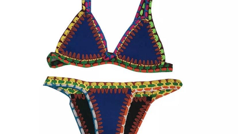 Blue Bali Bikini Bottoms