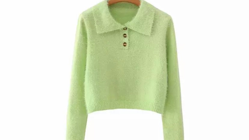 Lime Sara Sweater