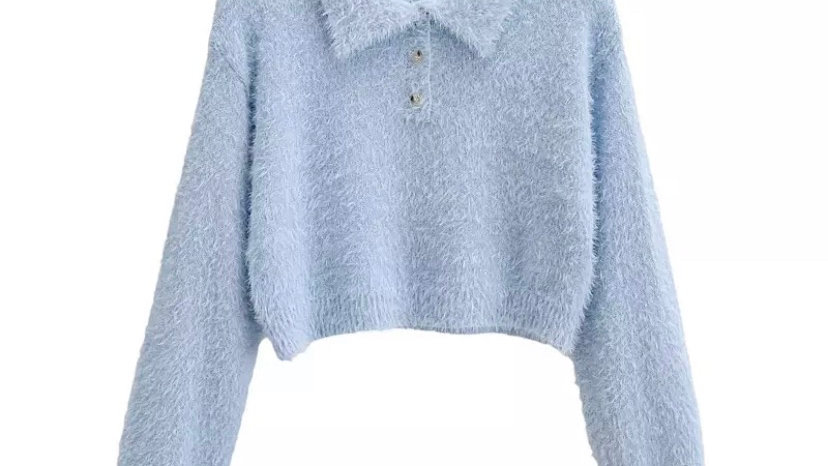 Baby Blue Sara Sweater