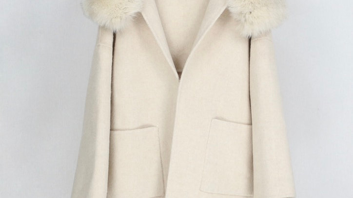Stockholm Wool Coat Cream