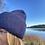 Thumbnail: Navy Blue Cashmere Beanie