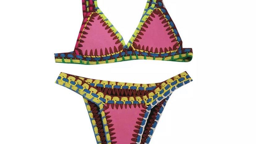 Pink Bali Bikini Top