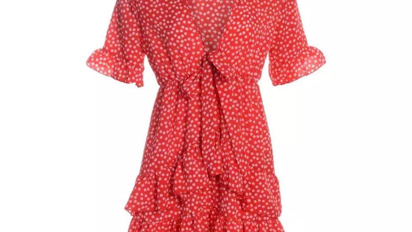 Filippa Dress Red
