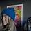 Thumbnail: Royal Blue Cashmere Beanie
