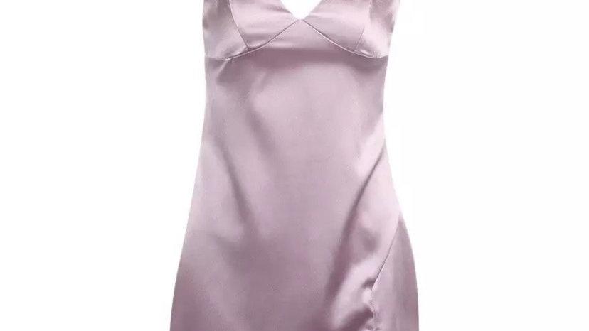 Gigi Dress Dusty Pink