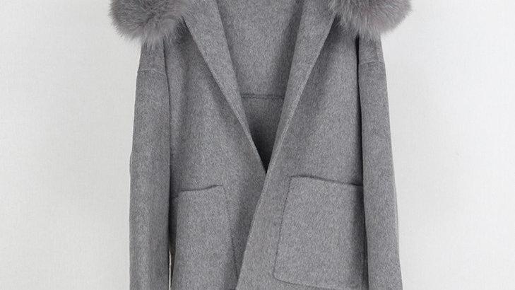 Stockholm Wool Coat Grey