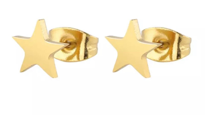 Gold Star Studs