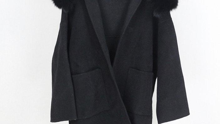 Stockholm Wool Coat Black
