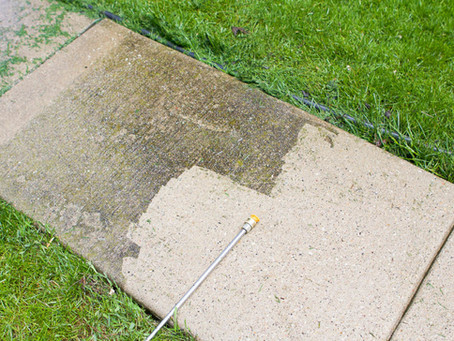 Pressure Washing - Keeps your property value high and your family healthy