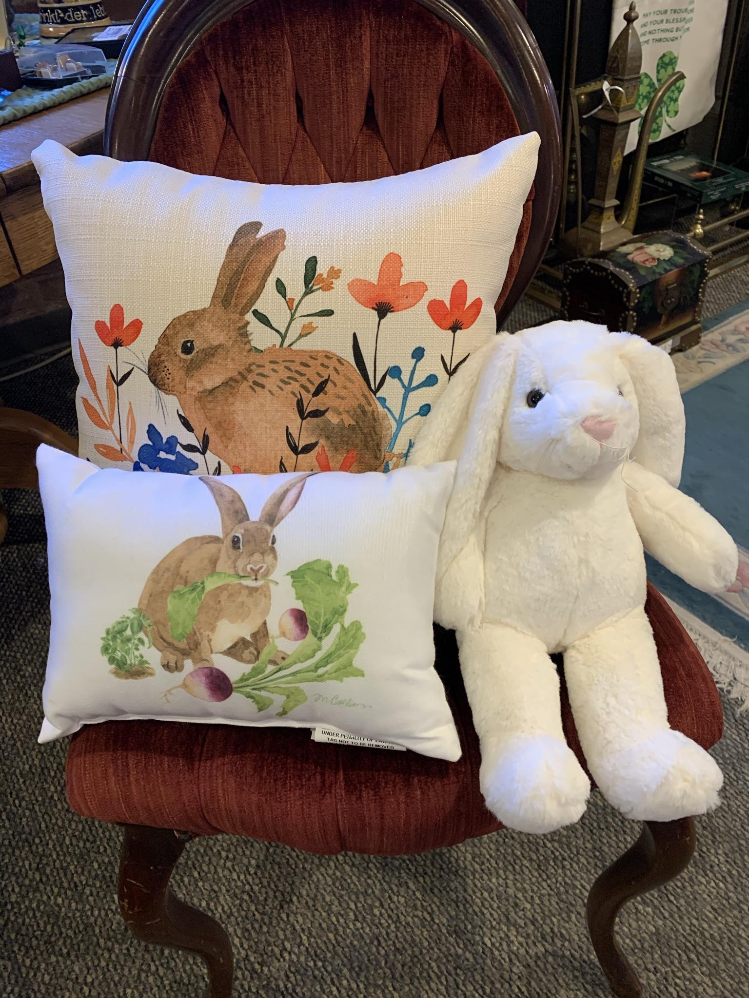 easter bunny pillows