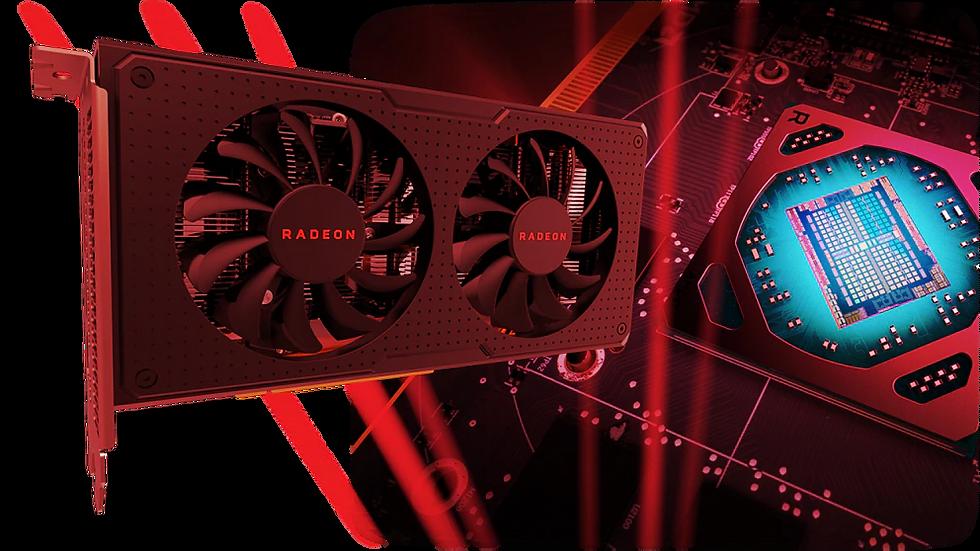 XFX RX-590P8DFD6 Radeon Rx 590 Fatboy 8GB OC+ 1580MHz DDR5 3xDP HDMI DVI Graphic