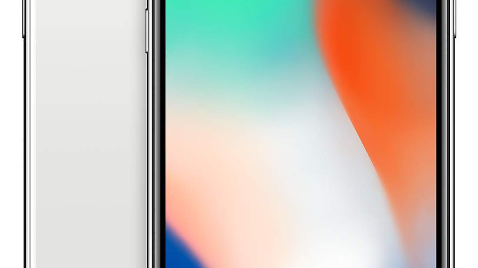 "Apple iPhone X, Unlocked 5.8"", 64GB - Space Gray (Renewed)"