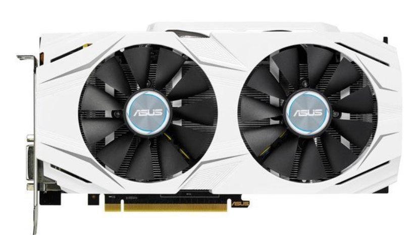 ASUS Dual GeForce GTX 1070 DirectX 12 DUAL-GTX1070-O8G 8GB 256-Bit GDDR5 PCI Exp