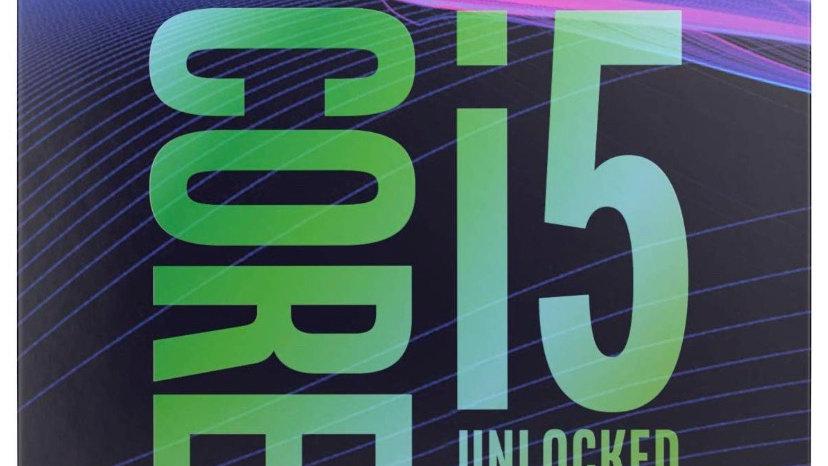 Intel Core i5-9600K Desktop Processor 6 Cores up to 4.6 GHz Turbo Unlocked LGA11