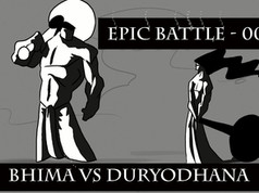 Epic Battle | 001| Bhima vs Duryodhana