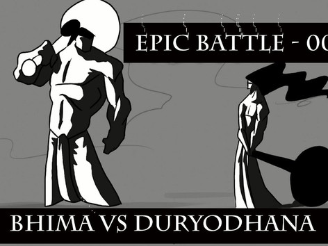 Epic Battle | 001| Bhima vs Duryodhana