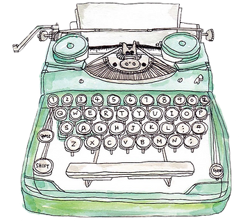 kisspng-paper-drawing-typewriter-5b387da
