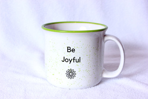 Be Joyful Oversized Mug
