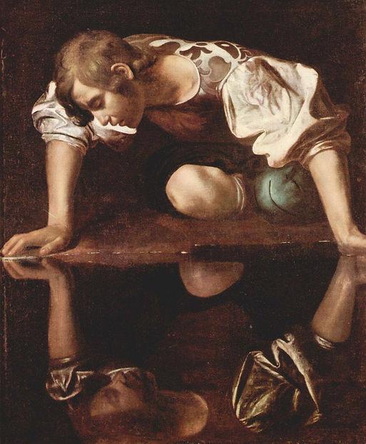 """Caravaggio """"Narciso"""""""