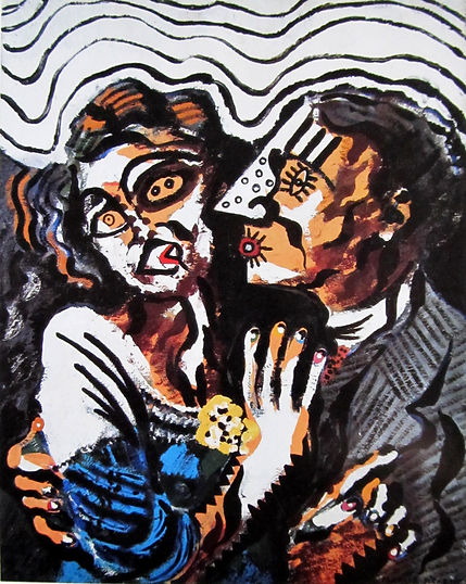 "Francis Picabia ""First meeting"""