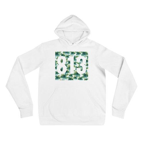 813 Green Flower hoodie