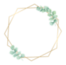 Golden hexagon with leaves.png