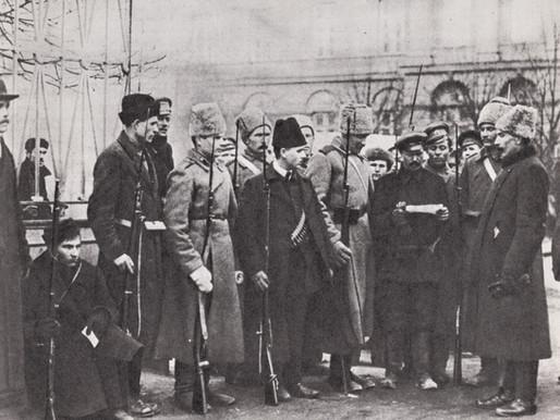Red Guard at Smolny, October 1917