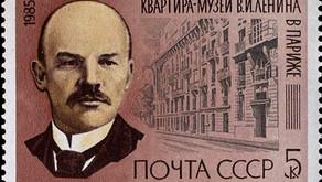 Lenin and Krupskaya in Paris