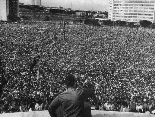 """""""Our people have done nothing but break their chains!"""" - Fidel Castro Sept. 2, 1960"""