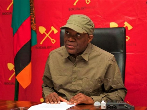 """We """"need to build a better socialist future"""" -  Dr Fred M'membe"""