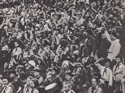 Soviet Pioneers event, 1930