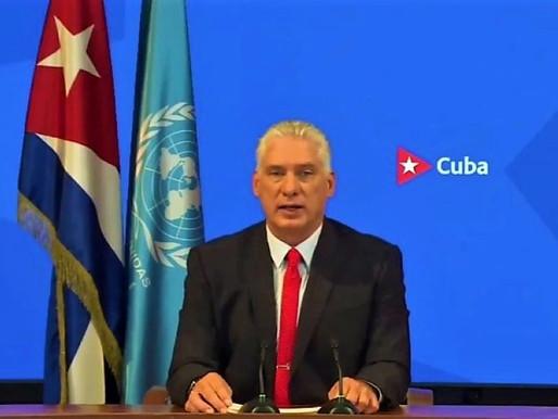 Changing the paradigm: Miguel Díaz-Canel Bermúdez speaks at the UN